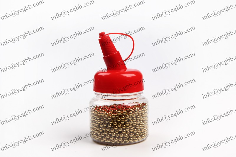 2500count with red cap steel BB for airgun